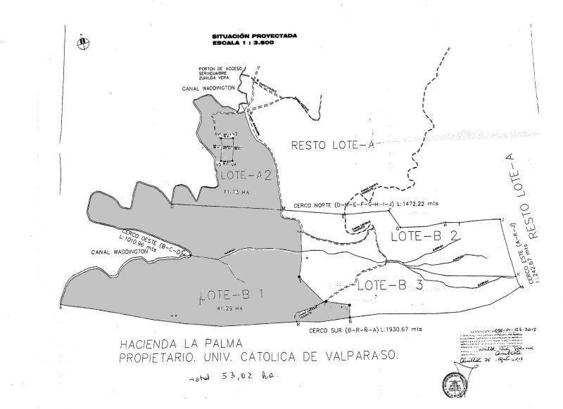FUNDO DE 53 HECTAREAS EN QUILLOTA.